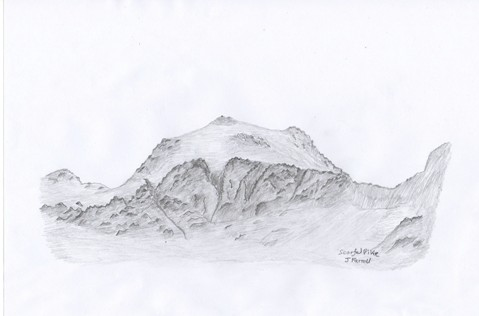 Scafell Pike Sketch